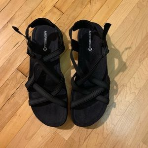 NWOT- Merrell (Chaco style) sandals!